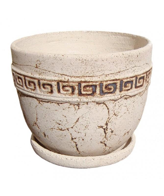 Clasik R šamoto keramikos vazonas