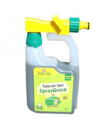 Liquid lawn fertiliser SprayGreen