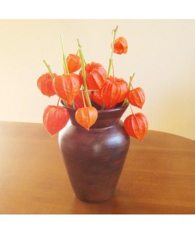 Vaza BARYLKA medžio imitacija