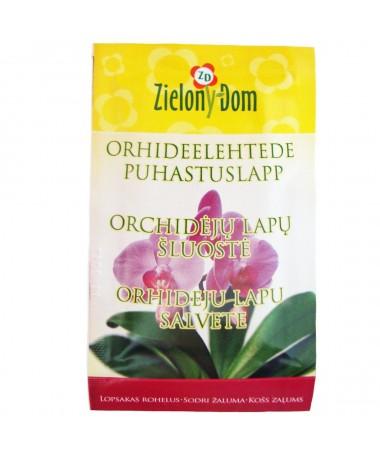 Orchidėjų lapų šluostė