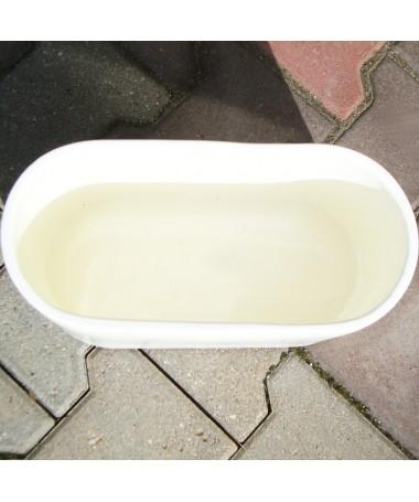 Lovelis keramikos 39 cm baltas
