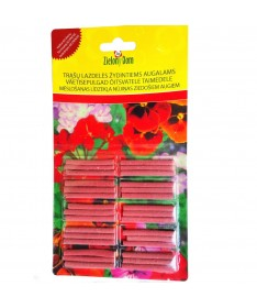 Fertiliser sticks for flowering plants