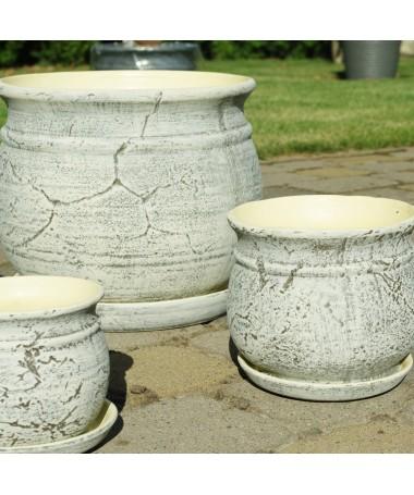 Senovinis flower pot