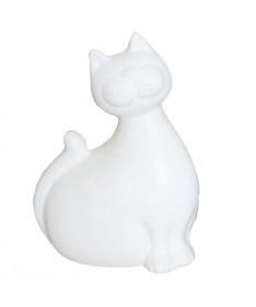 Katinas 21 keram. figurėlė dramblio kaulo sp.