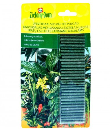 Fertiliser sticks for green plants