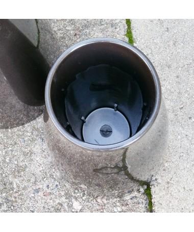 Vaza kapams aukštis 26 cm juodos sp.
