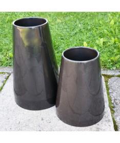 Vaza kapams aukštis 33 cm juodos sp.