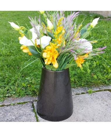 Vaza kapams aukštis 25 cm juodos sp.