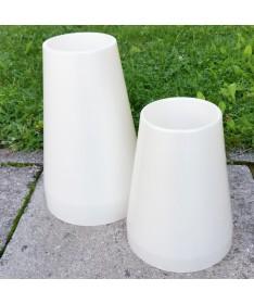 Vaza kapams aukštis 33 cm perlamutro sp.