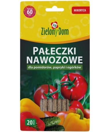 Trąšų lazdelės pomidorams, paprikoms ir agurkams