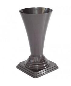 Vaza gėlėms metal 19 juoda