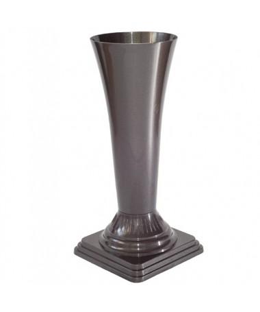 Vaza gėlėms metal 16 juoda