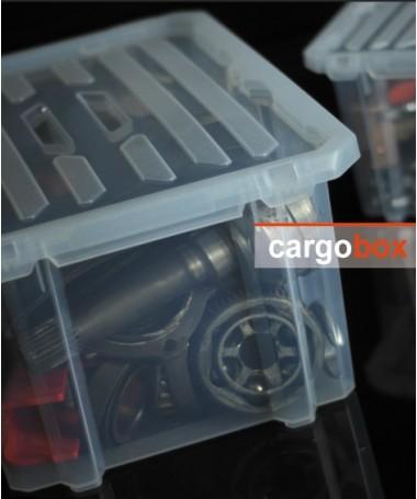 Dėžė cargo box su dangčiu