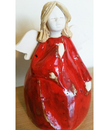 Balbina AN-135 šamoto keramikos angelas