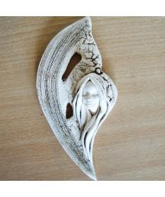 Angelas AN-44 pakabinama šamoto figurėlė